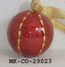 Fabric Christmas Hanging Balls