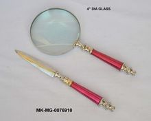 Spy Glass And Letter Opener With Handle