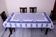 Block Print Dining Table Cover