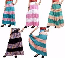 Cotton Designer Printed Long Skirt