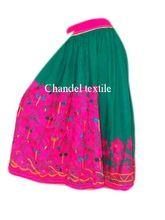 Gujarat Parrot Skirt Hand Embroidered