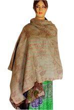 Silk Sari Shawl Reversible Handmade