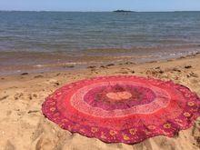 Yoga Mat, Hippie Tapestry