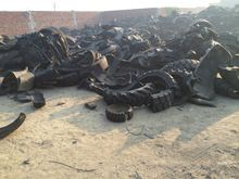 Old  New Rejected Tire Scrap For Pyrolysis