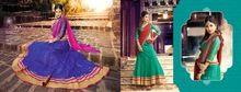 Indian Pakistani Designer Wedding Wear Net Lehenga
