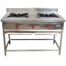 Commercial Two Burner Cooking Range