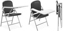 Folding School Chair With Writing Tab