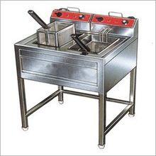 Stainless Steel Double Deep Fat Fryer