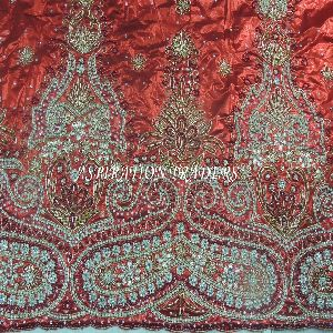 Heavy Stones Beaded Fabric