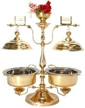 Brass Serving Dish Food Warmer Brass Chafing Dish