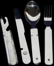 Stainless Steel Camping Cutlery
