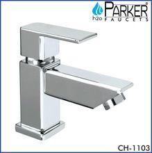 Deck mount sink tap