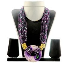 Banjara Pearl Beaded Western Necklace
