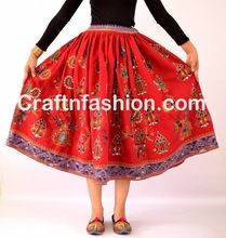 Banjara Tribal Bell Dance Hobo Skirts