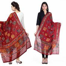 Cotton Sitara Work Dupatta