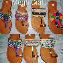 Embroidered Ladies Chappals