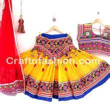Gujarati Dance Costume
