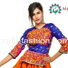 Hand Embroidered Gujarati Navratri Tops