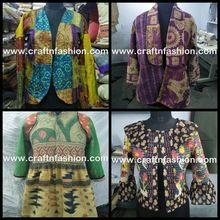 Reversible Kaantha Quilt Waist Coat