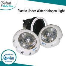 Plastic Under Water Halogen Light