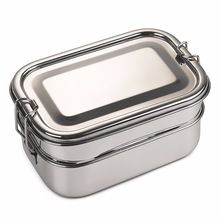 Vintage Double Decker School Tiffin Box