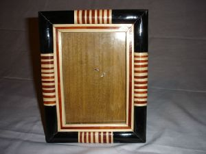 Bone, Horn, And Wood Photo Frames