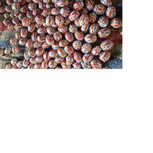 Handmade Chevron Glass Beads For Bead Stores