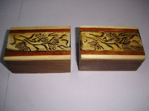 Handmade, Handcarved Bone Boxes