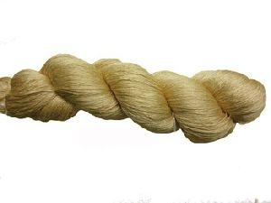 Handmade Muga Silk Yarns For Yarn Stores