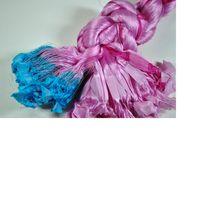 Sari Silk Thrums Obtained