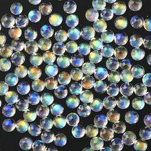 Semi Precious Rainbow Moon Stone