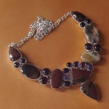 Amethyst Jasper Necklace