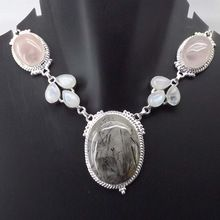 Black Rutile Necklace
