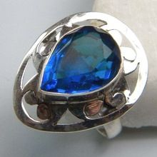 Blue Quartz Ring