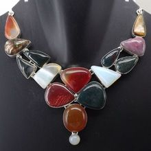 Carnelian Blood Stone Necklace