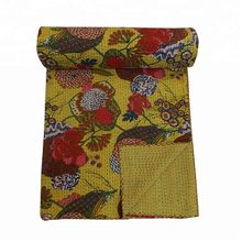 Cotton Kantha Quilts