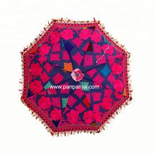 Gypsy Embroidered Parasols Umbrella