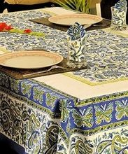 Hand Block Printed Table Linen cloth