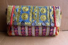 handmade banjara clutch bag