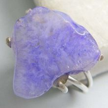 Hole Agate Ring