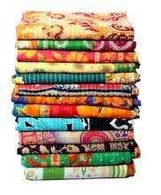 indian vintage kantha summer quilts
