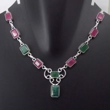 Ruby, Emerald Necklace