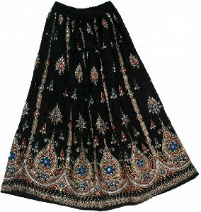 sequin long skirts