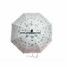 white wedding souvenir umbrella