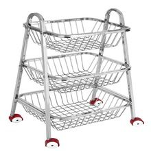 Distinctive Stainless Steel Rolling Cart Trolley Cart
