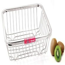Stainless Steel Metal Fruit Vegetable Basket Storage Baskets