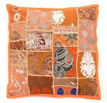 embroidered cushion cover pillow case