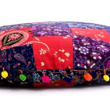handmade ottoman pouf yoga meditation floor pillow cover