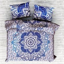 Ombre Mandala Duvet Doona Comforter Quilt Cover