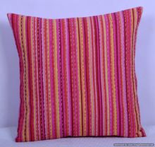 Stripe Kantha Cushion Cover